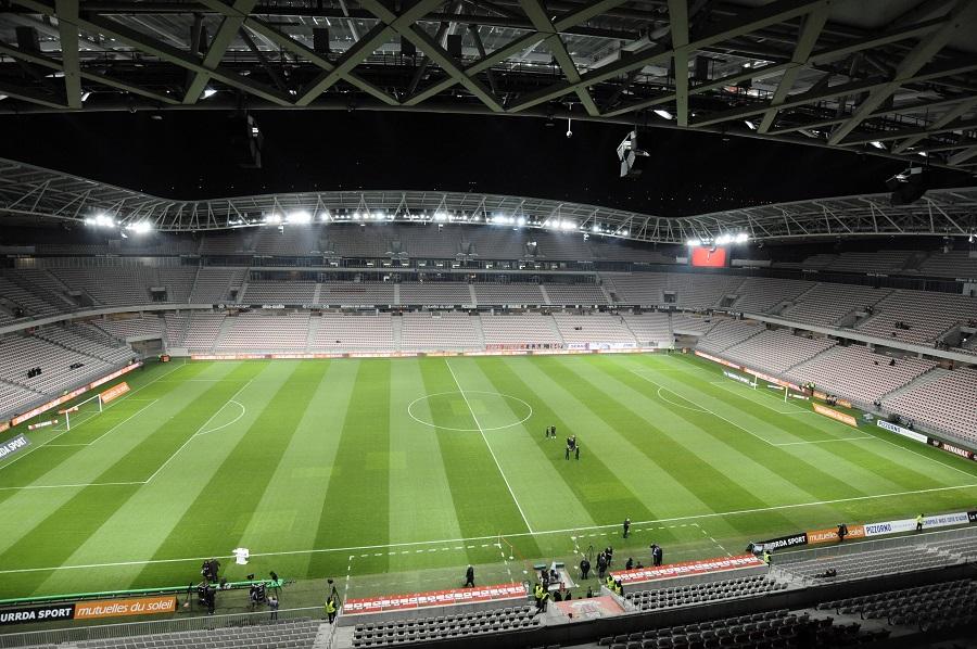 Nice fotbollstadium Stade Allianz Riviera