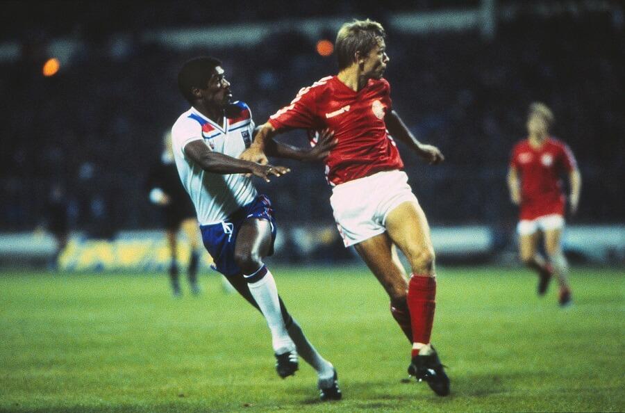 Danmark mot England på Wembley 1983 i kvalet