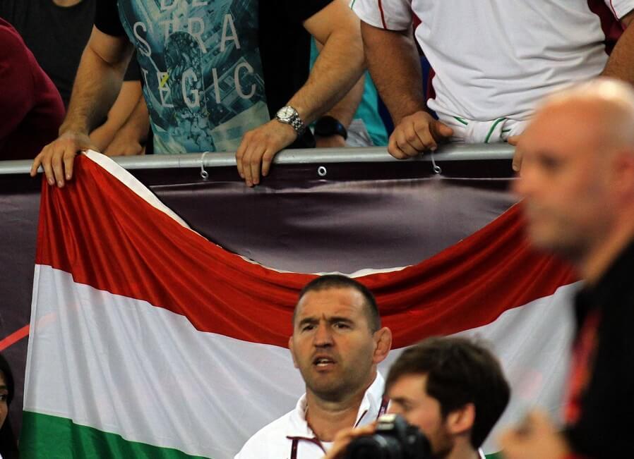 Ungern flagga