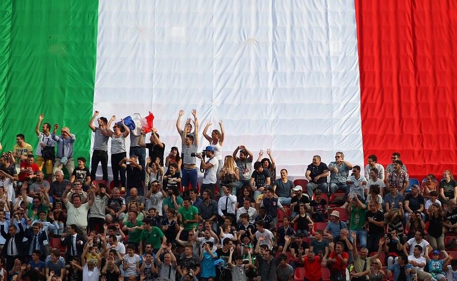 Italien hejarklack