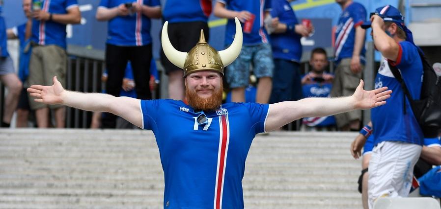 Fussball-EM 2016: Island vs Österreich 2:1