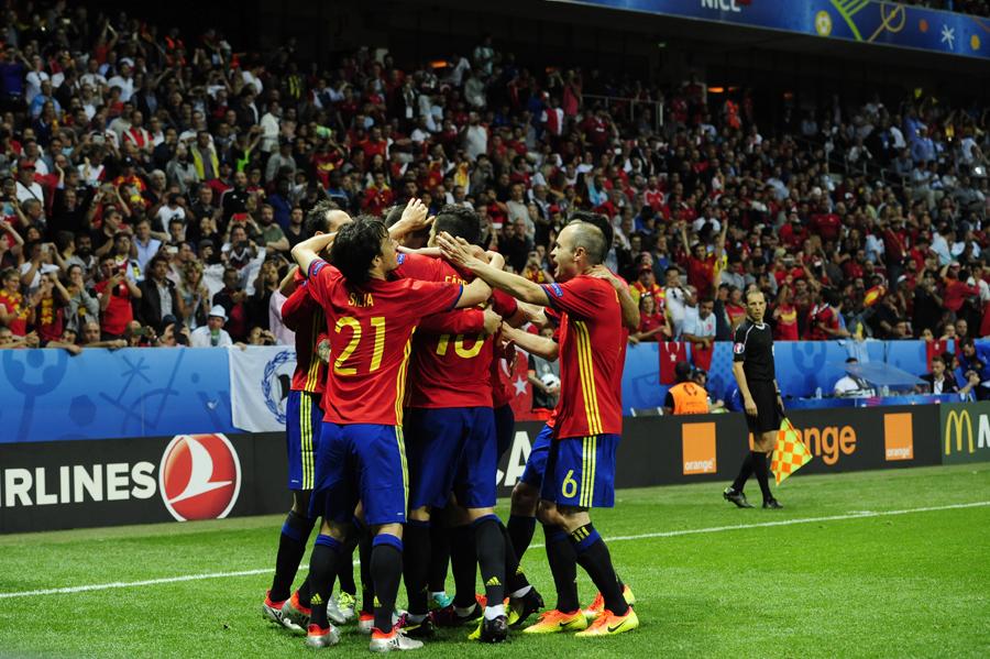 Spanien - Turkiet 3-0 EM 2016