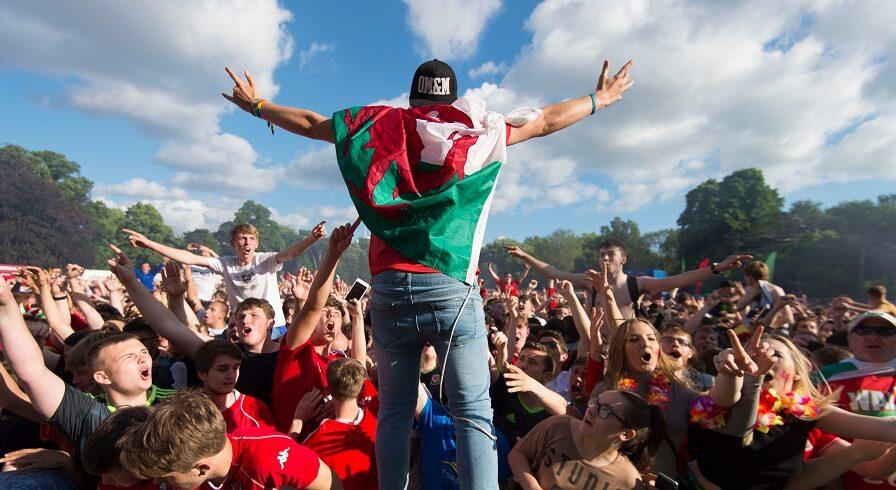 Wales publiken