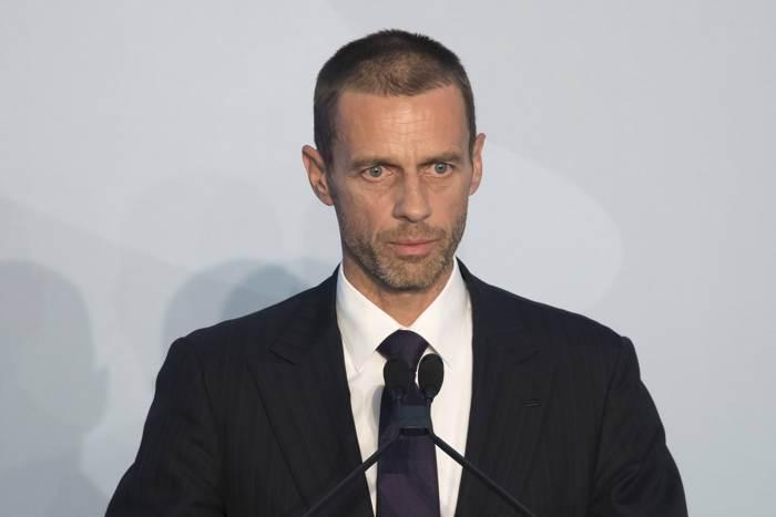 Ceferin ny president UEFA.