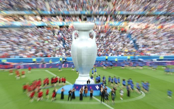Portugal finalen mot Frankrike - i Paris.