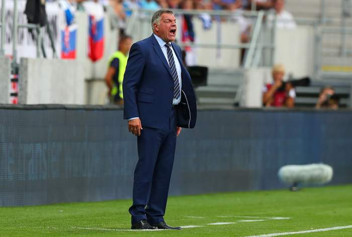 Sam Allardyce i aktion!