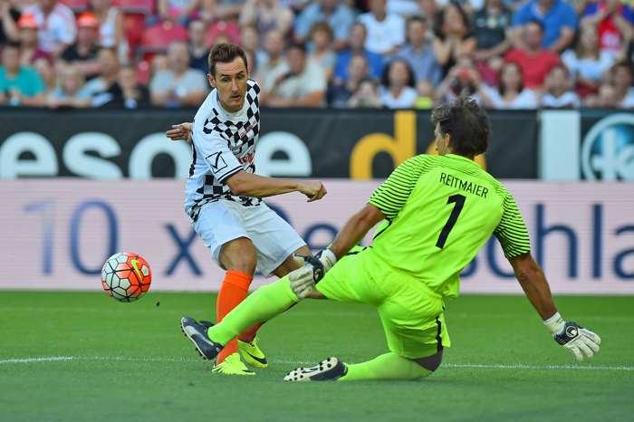 Miroslav Klose i aktion