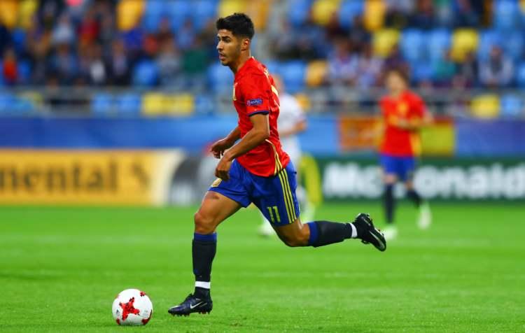 Asencio spelar i U21 EM