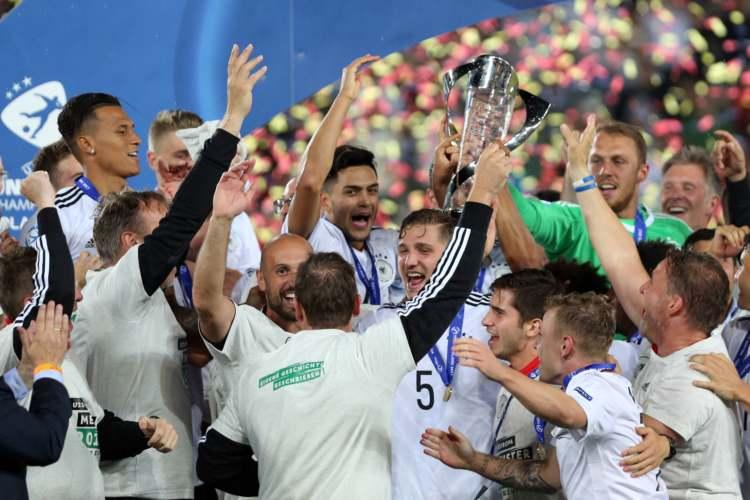 Tyskland vinner U21 EM 2017