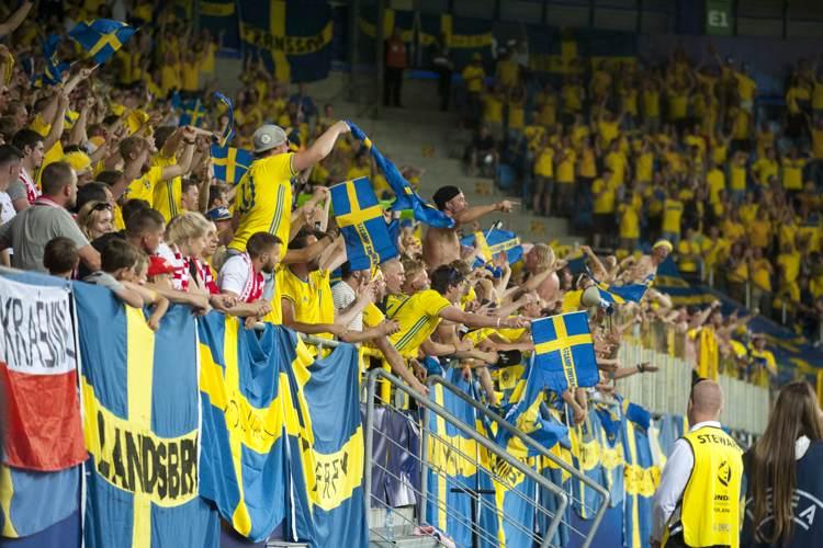 Svenska fans i U21-EM