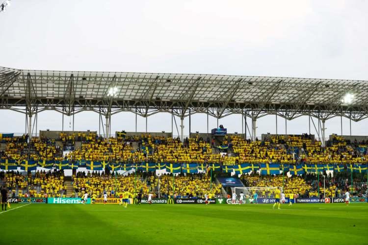 Sweden fans in U21
